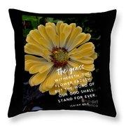 Isaiah 40.8 Throw Pillow