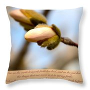 Isaiah 61  V 11 Throw Pillow