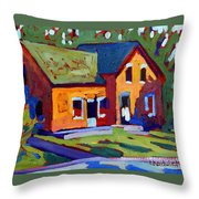 Isaiah Tubbs Neighbour Throw Pillow