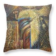 Isis. Egyptian Goddess Throw Pillow