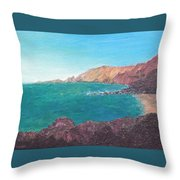 Isla D' El Hierro Throw Pillow