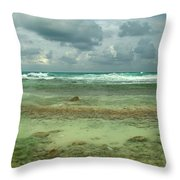 Isla De Mujeras North Shore Throw Pillow