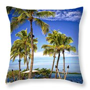 Islamorada - Florida Throw Pillow