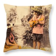 Island Children Throw Pillow