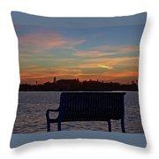Island Estates Sunrise Throw Pillow
