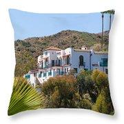 Island Hacienda Throw Pillow