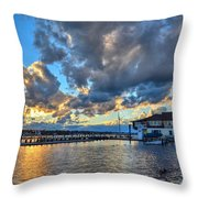 Island Heights  Throw Pillow