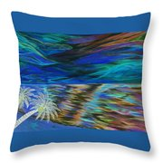 Island High Inverted Colours Throw Pillow