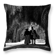 Island History Throw Pillow