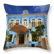 Island Home Throw Pillow