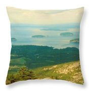 Island Hopping Throw Pillow