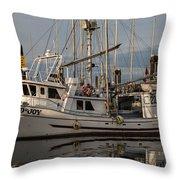 Island Joy Throw Pillow