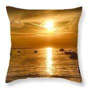 Island Life 5 Throw Pillow