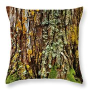 Island Moss Throw Pillow
