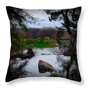 Island Of Immortals Throw Pillow