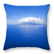 Island Of Lanai Throw Pillow