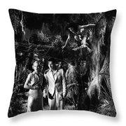 Island Of Lost Souls 1932 Leila Hyams Richard Arlen Kathleen Bur Throw Pillow