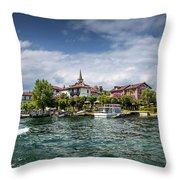 Island Of The Fishermen Throw Pillow