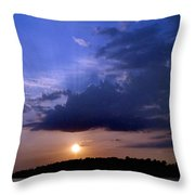 Island Peace Throw Pillow