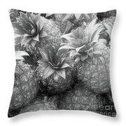 Island Pineapples Throw Pillow