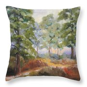 Island Pines Throw Pillow