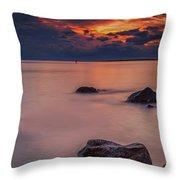 Island Retreat Throw Pillow