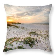 Island Time Throw Pillow