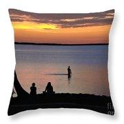 Island Trade Throw Pillow