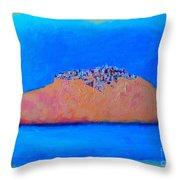 Islander City Throw Pillow