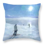 Islands In The Cloud Throw Pillow