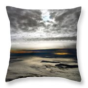 Islands In The Clouds Throw Pillow
