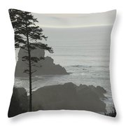 Islands In The Mist Throw Pillow