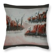 Islands In The Steam  Throw Pillow