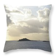 Islands Like Camels Crossing A Watery Desert  Throw Pillow