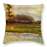 Islands On The River Throw Pillow