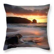 Isle Of Lewis Outer Hebrides Scotland Throw Pillow