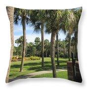 Isle Of Palms Throw Pillow
