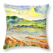 Isle Of Skye 01 Throw Pillow