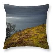 Isle Of Skye Views Throw Pillow