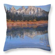 Isn't It Grand Throw Pillow