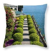 Isola Bella, Lake Maggiore, Italy Throw Pillow