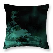 Isolation From Within Throw Pillow