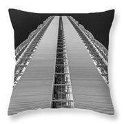 Isozaki Tower - Allianz Throw Pillow
