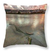 Israel Coast Throw Pillow