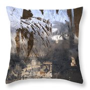Israel, Jerusalem Abstract Of A Window Throw Pillow