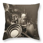 Israel: Metal Workers, 1938 Throw Pillow