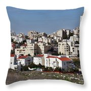 Israel Modiin  Throw Pillow