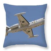 Israeli Air Force 1124n Seascan Patrol Throw Pillow