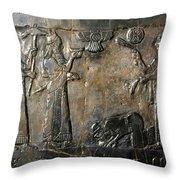 Israelite Submission Throw Pillow