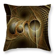 Issuance Of The Metropole Throw Pillow